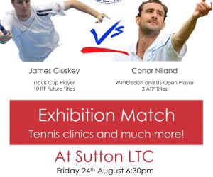 Be Independent Home Care and Sutton Tennis Club